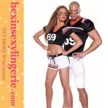 Fashion Women cheap wholesale American football costume for man