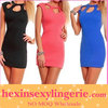 wholesale 2013 woman pink cheap sexy evening dress
