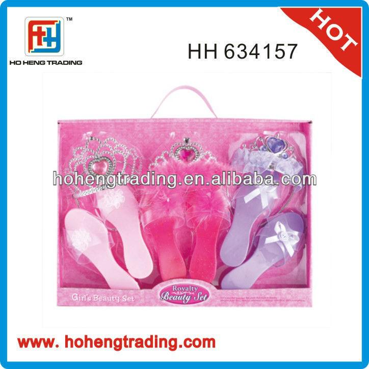 fashion princess shoes toy set