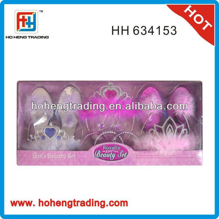 girls beauty set, plastic toy