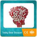 ursinho de pelúcia urso de brinquedo dos desenhos animados bouquet para presentes de aniversário