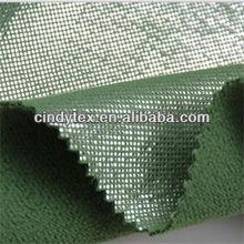 100d drapery soft brushed 100% polyester anti pilling gold printed polar fleece