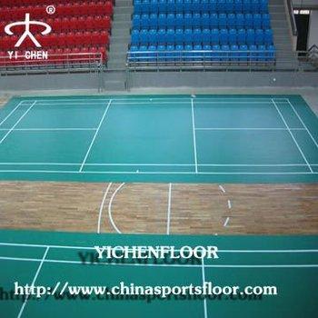 Badminton Court Flooring,Basketball Flooring,Futsal Flooring/Volleyball Flooring