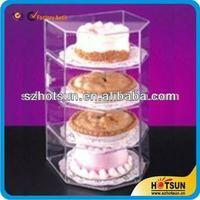 decorative acrylic cake stands/cake dispaly rack