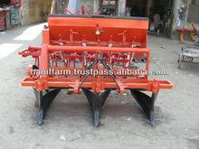 Multi crop bed planter with fertilizer attachment