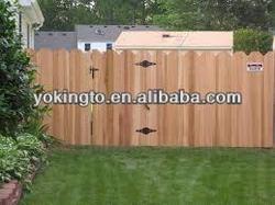 cedar timber wood fence post