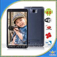 6.0'' screen MTK6589 quad core android smart phone dual sim 2 cameras