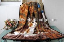 2014 new blanket,printing mink blanket,comfortable blanket