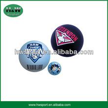 high quality 6.3cm hollow rubber ball for handball