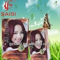 Prefessional FENG FENG cheveux couleur catalogue / meilleure qualité cheveux couleur