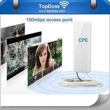 150mbps 2.4GHz 500mw high power wifi bridge rj45 wireless adapter