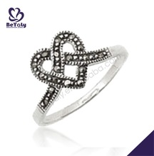 wholesale exquisite sterling silver latest gold rings design for women