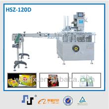 HSZ-120D the fast speed carton machine with robot palletiser