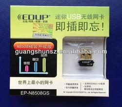 EP-N8508GS Mini 150Mbps Wireless 802.11N USB Network NANO Card Adapter 100% NEW & ORIGINAL