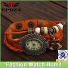 Hot sale vintage ladies girls women leather watches ladies promotion watch