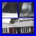 Galvanizado folha coberturas metálicas preço ( gi chapa de aço ondulada, Revestimento de zinco 60 g / m2-275g / m2 )