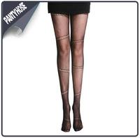 New Design Core-spun Silk Pantyhose Beautiful Tube Tights Pantyhose