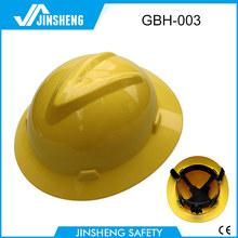 PE full brim safety helmet price low