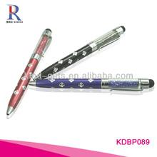 Custom Logo Diamond ballpoint pen for christmas gifts