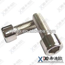 1.4529 N08926 AL6XN fastener stainless steel hex socket flat head cap screw
