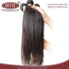 popular products in usa no tangle&shedding intact virgin peruvian hair