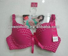 lovely pink hot best quality ladies bra lingerie