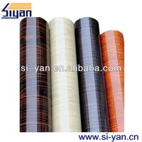 wood grain vinyl adhesive film for furnitures