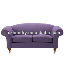 contemporary best price purple fabric sofa