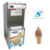 Floor model ice cream freezer with high quality compressor
