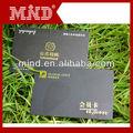 مخصصة حديثا العقل 2013 بطاقات الائتمان البلاستيكية التي تحتوي على الذهب تنقش رقم