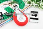 2014 new portable mini wireless bluetooth waterproof speaker support FM radio function