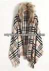 Hot sale British grid women pashmina scarf