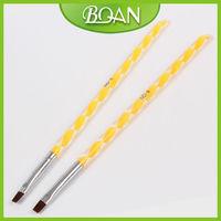Lovely Color Acrylic Handle Nylon Hair Brush Manufacturer Cheap Nail Brush