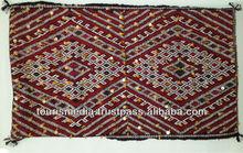 Large Berber moroccan Kilim cushion cover 90cm x 52cm
