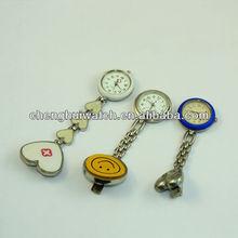 Best-selling an popular fashion alloy quartz cartoon nurse pocket watch