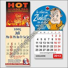 Promotional magnetic calendar - fridge magnet calendar