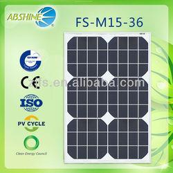 small solar panel 5W 10W 15W 20W