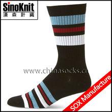 Customized Mid Calf Cotton Colorful Socks