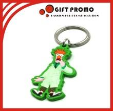 Soft PVC Keychain Rubber Keyring Rubber Keychain