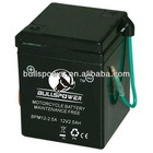 Maintenance Free/Dry cell 12v 2.5ah motorcycle lead acid battery
