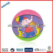 Hot sale custom rubber basketball ball promotion cheap basketball