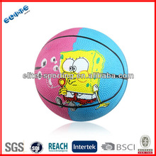 Best price eco-friendly mini rubber basketball promotion cheap basketball