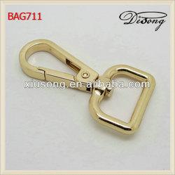 BAG711 All kinds colors of metal hook buckle