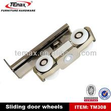 coulissant rouleaux de porte en acier de roue