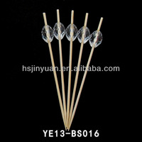 2.0mm Diametre Thin Bamboo Sticks /bamboo skewer for decoration