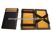 ADAGW - 0266 hot popular magic wallets / high end leather wallets for men / bifold long wallets for mens