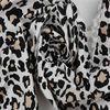 32*32 drapery soft cotton spandex leopard print fabric