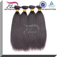 5a grade fashion yaki straight 100% top quallity brazilian virgin hair