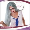 Sliver grey halloween devil wigs cheap
