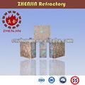 De poupança de energia e de silicone de proteção ambiental desgaste - resistência tijolo refratário que faz a máquina